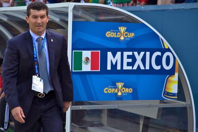 Mexico Fire Manager Jose Manuel de la Torre After Loss to Honduras