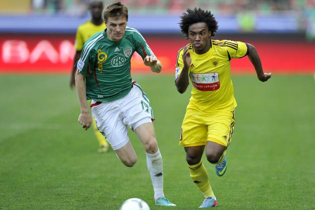 Chelsea Transfer News: Breaking Down What Willian Will Bring to Blues