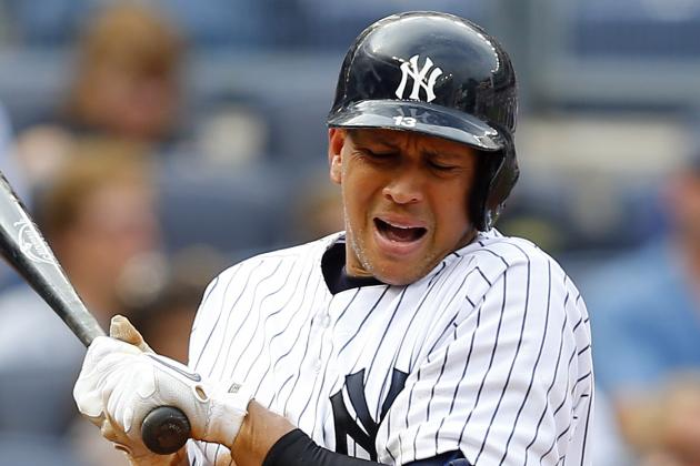Alex Rodriguez Sitting Today vs. Red Sox; Curtis Granderson Returns