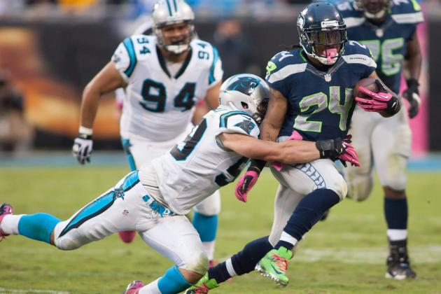 Panthers Defense Looks to Stop Seahawks Running Game