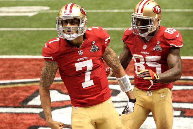 Colin Kaepernick Won't Miss a Beat with San Francisco 49ers' Top WR Hurt