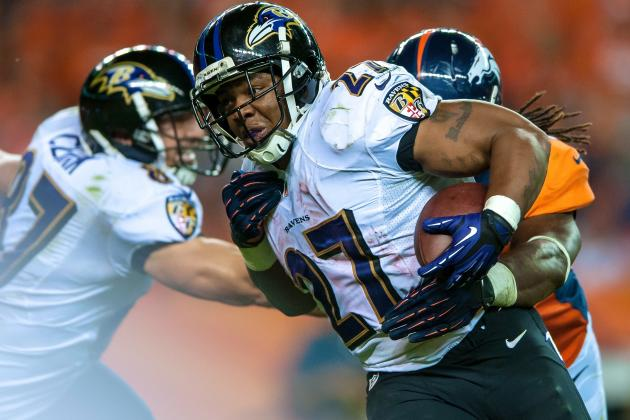 Ray Rice's Week 1 Pedestrian Performance Should Not Concern Fantasy Owners