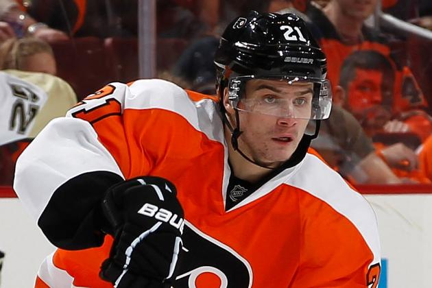 Flyers' 2012 First-Rounder Laughton Hopes to Stay in Philly All Year