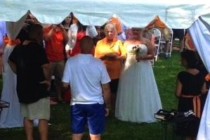 There's Nothing Like a Tennessee Tailgate Wedding