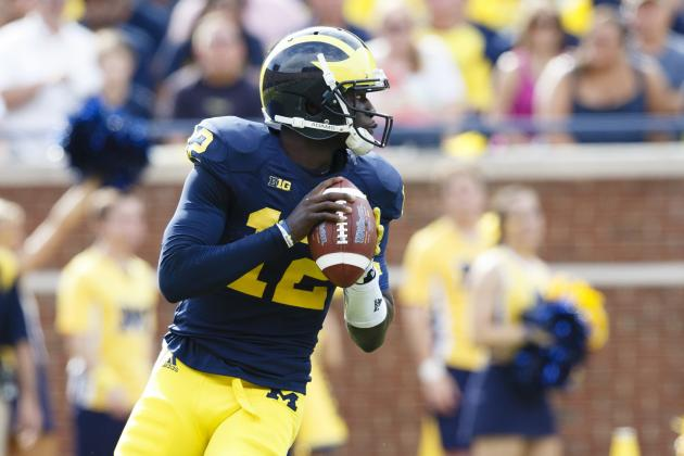 Devin Gardner's Play vs. Notre Dame Will Reveal Michigan Wolverine's Ceiling