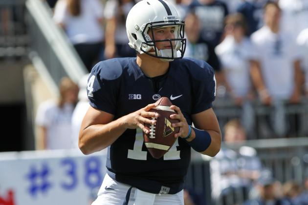 Hackenberg Sets Penn State Freshman Passing Record in Win