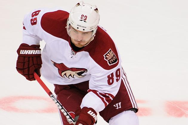 Coyotes Re-Sign Boedker to Two-Year Contract