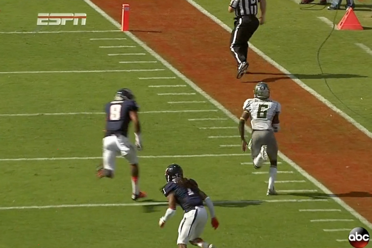 Oregon Ducks RB De'Anthony Thomas Flies on a 40-Yard TD Run