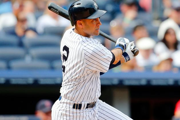Derek Jeter Exits with Soreness Near Ankle