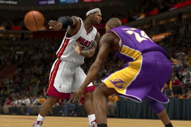 NBA 2K14: Breaking Down First Ever Live Stream of Full Game