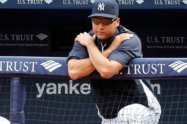 Jeter to Undergo Precautionary CT Scan on Ankle