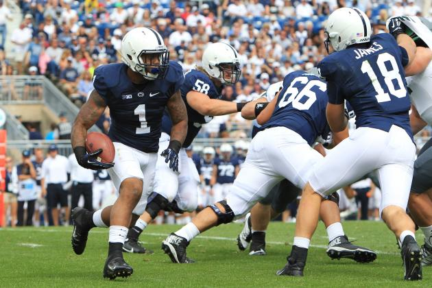 Penn State Football: RB Bill Belton Making Case for Return to Starting Lineup