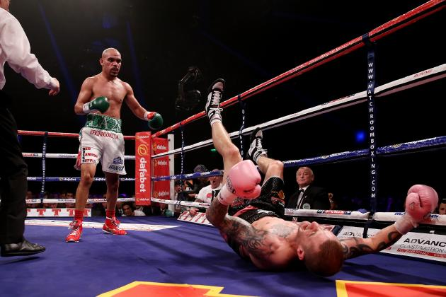 Ricky Burns vs. Raymundo Beltran: Burns Retains WBO Title with Draw