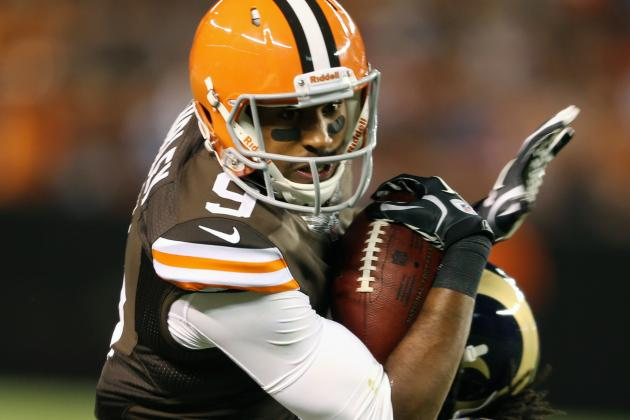 Browns Promote WR Tori Gurley to Active Roster
