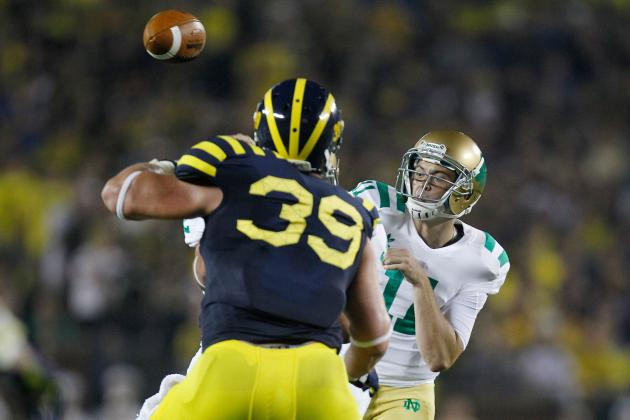 Notre Dame vs. Michigan: Key Matchups to Watch in Primetime Showdown