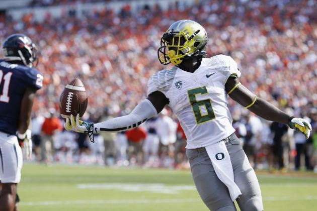 De'Anthony Thomas Shows His Feature Back Credentials vs. Virginia