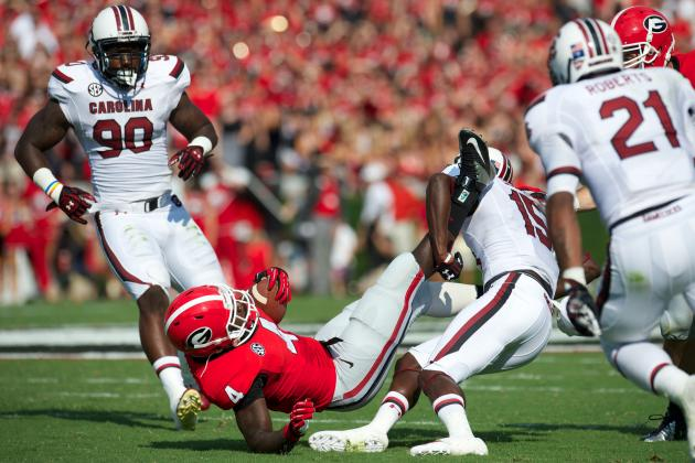 Keith Marshall Injury: Updates on Georgia RB's Knee, Potential Return Date