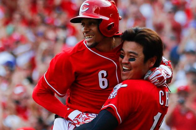 Speedy Hamilton, Reds Stop Dodgers in 10