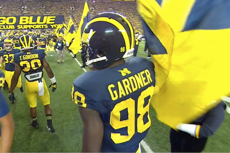 Michigan QB Devin Gardner Wears No. 98 to Honor Heisman Winner Tom Harmon
