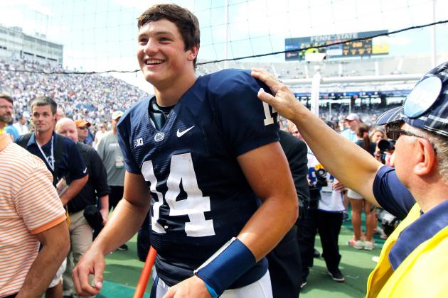 Penn State QB Christian Hackenberg Shows Tremendous Growth, Sets Freshman Record