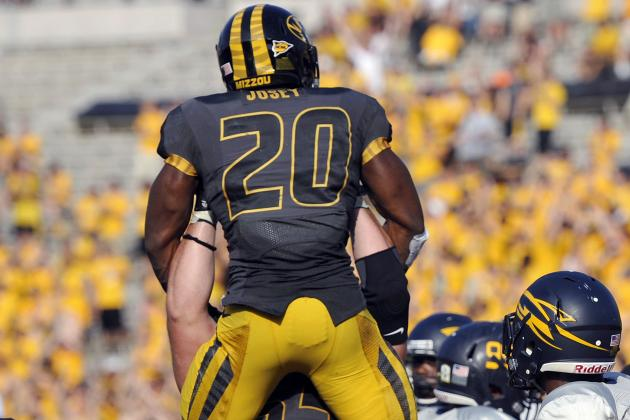 Mizzou Grounds Rockets with Rush Attack, Timely Turnovers