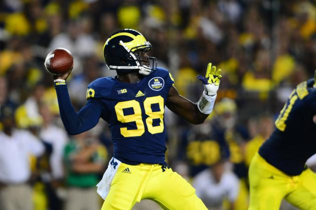 Meet Tom Harmon, the Reason Why Michigan QB Devin Gardner Is Wearing No. 98