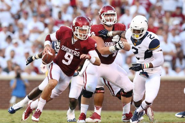 West Virginia vs. Oklahoma: Sooners Have a QB Situation to Resolve Again