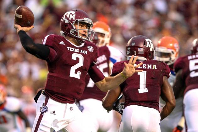 Sam Houston State vs. Texas A&M: No Headlines, No Drama, Just Johnny Football