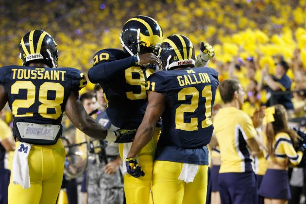Devin Gardner and Jeremy Gallon Become Premier Duo with Win vs. Notre Dame