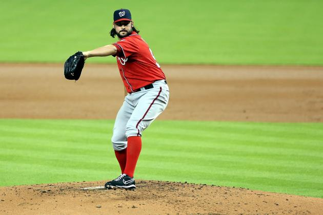 Tanner Roark Stars in First Major League Start as Nats Beat the Marlins, 9-2