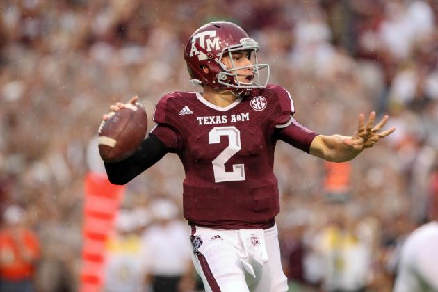 Johnny Manziel Fortifies Heisman Defense with Monster Game vs. Sam Houston State