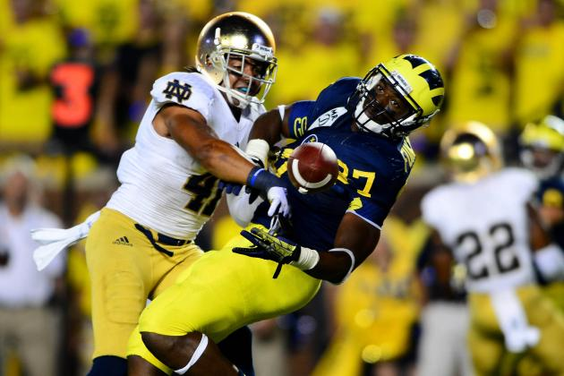 Notre Dame vs. Michigan: Irish Defense Isn't Quite What We Thought It Was