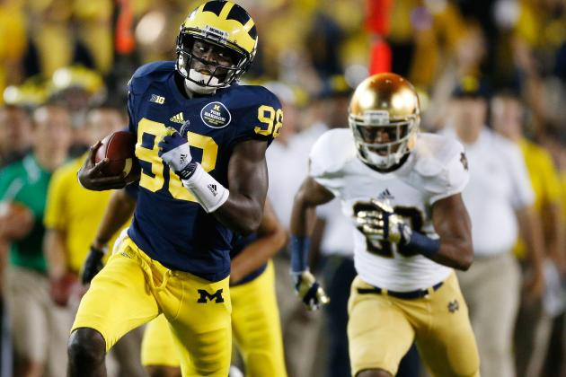 Notre Dame vs. Michigan: QB Devin Gardner Proves Himself on National Stage