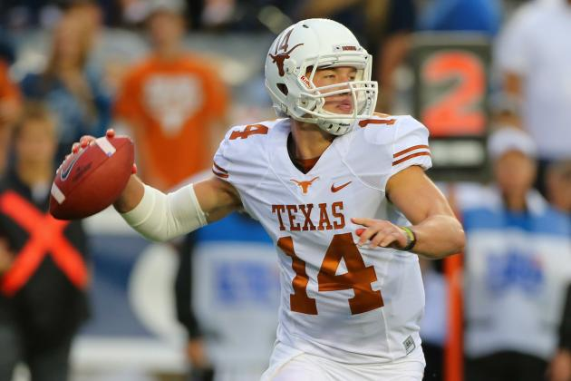 David Ash Injury: Updates on Texas QB's Head, Potential Return Date