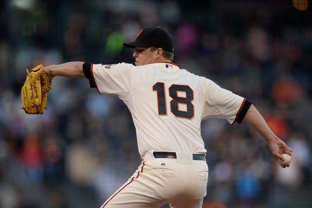 Cain Loses Pitchers' Duel in Return to Giants