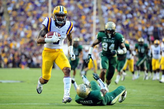 LSU vs UAB: Odell Beckham Jr. Is New Star in Cam Cameron's Offense