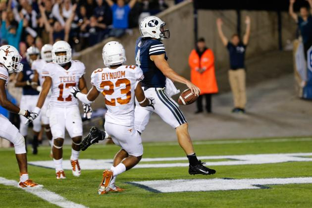 Texas vs. BYU: Live Score and Highlights