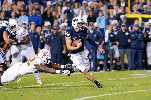 Texas vs. BYU: Cougars Crush Longhorns with Record-Setting Rushing Performance