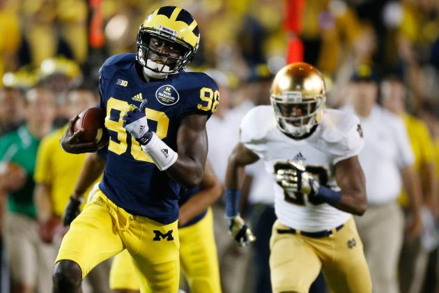 Kelly Points Elsewhere, but Defense the Culprit in Notre Dame's Loss to Michigan