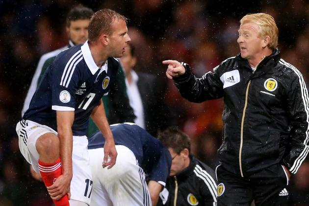 World Cup Qualifier: Scotland Lose Rhodes and Adam for Macedonia Clash