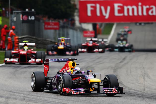 Italian Grand Prix 2013: Live Lap-by-Lap Updates, Highlights, Recap from Monza