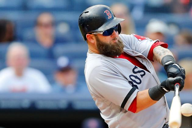 Mike Napoli and Shane Victorino Sitting Today vs. Yankees
