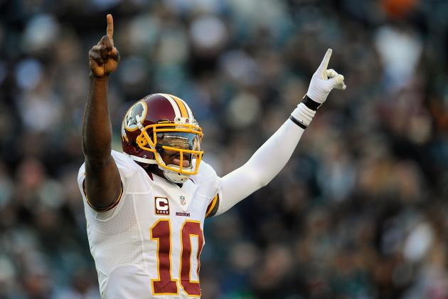 Projecting Robert Griffin III's Complete Fantasy Outlook vs. Eagles