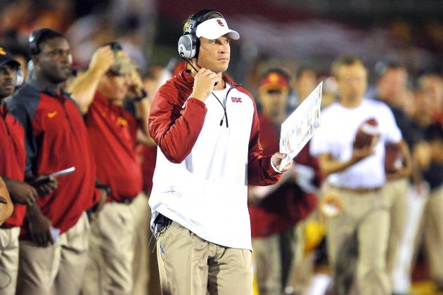 USC Trojans Are Playing Scared Because Lane Kiffin Is Coaching Scared