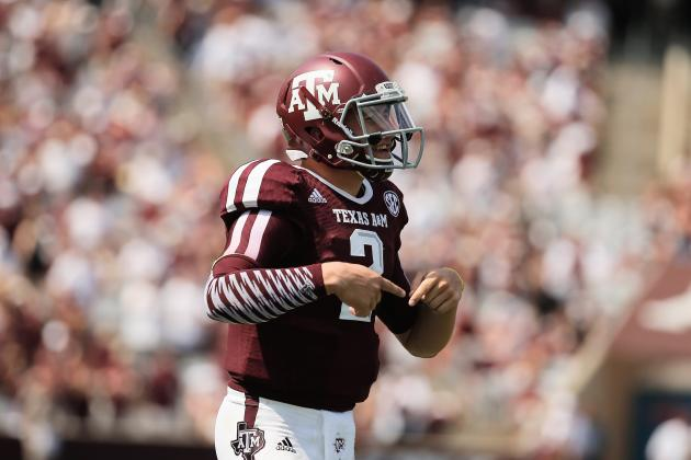 Johnny Manziel Says Matchup vs. Alabama Just 'Feels Like Another Game'