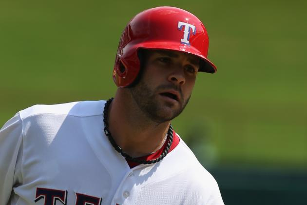 Mitch Moreland and A.J. Pierzynski out Today vs. Angels