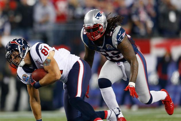 Brandon Spikes (Dehydration) Questionable to Return