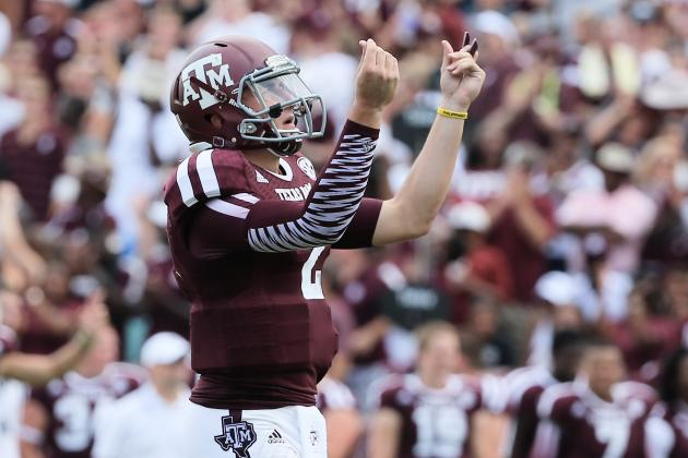 Johnny Manziel Should Be the 2013 Heisman Favorite Following Week 2
