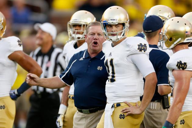 Kelly Optimistic About Notre Dame Defense