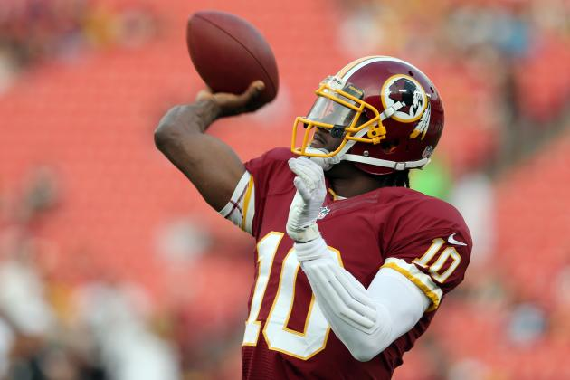 Robert Griffin III's Week 1 Fantasy Outlook in Return vs. Eagles